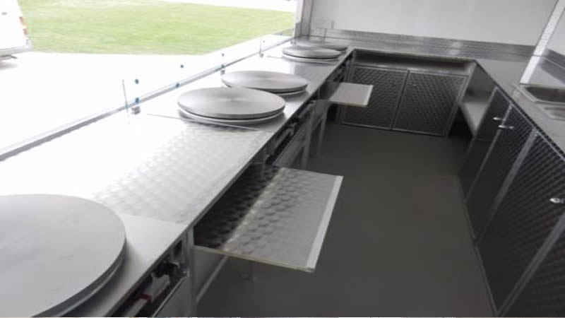 Catering Trailers Interiors
